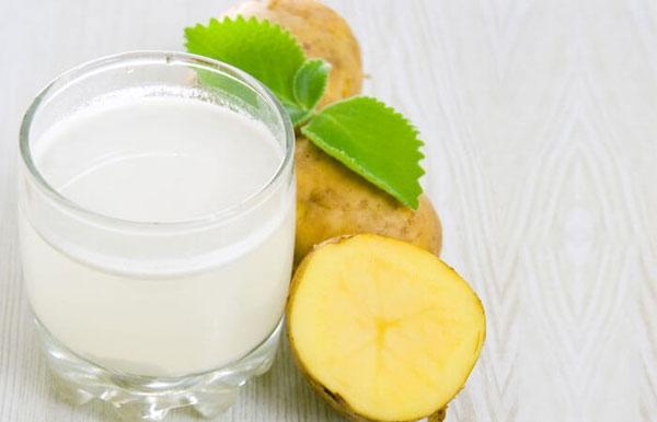 Nước ép khoai tây giúp thải độc tố ra khỏi cơ thể