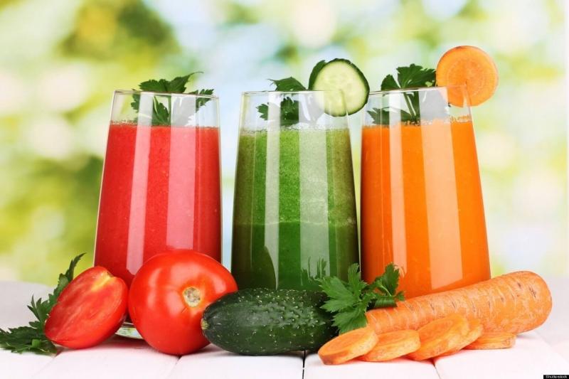 Nước trái cây bổ sung vitamin