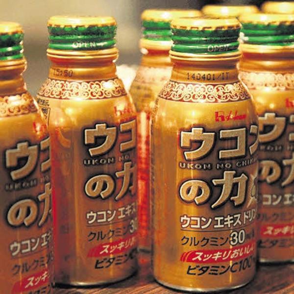 Nước Nghệ Giải Rượu Ukon No Chikara 100ML Nhật Bản