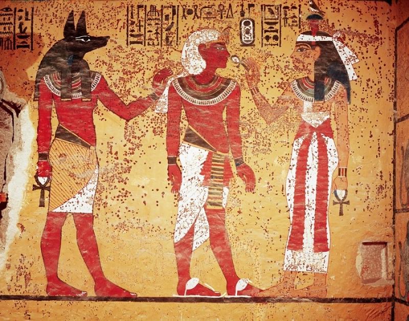 Người Ai Cập dùng dầu thơm như một kiểu nước hoa