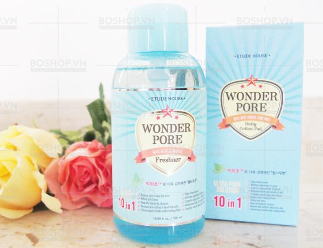 Nước hoa hồng Etude House Wonder Pore Freshner