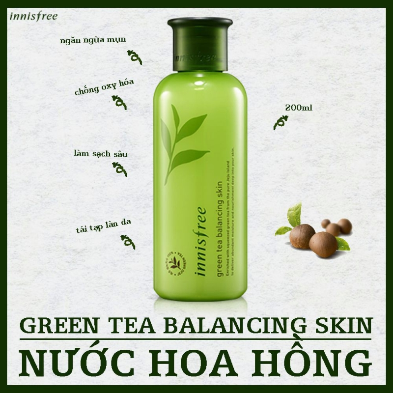 Innisfree Green Tea Fresh