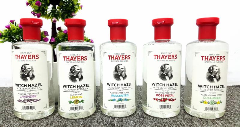 Nước hoa hồng không cồn Thayers Witch Hazel Toner
