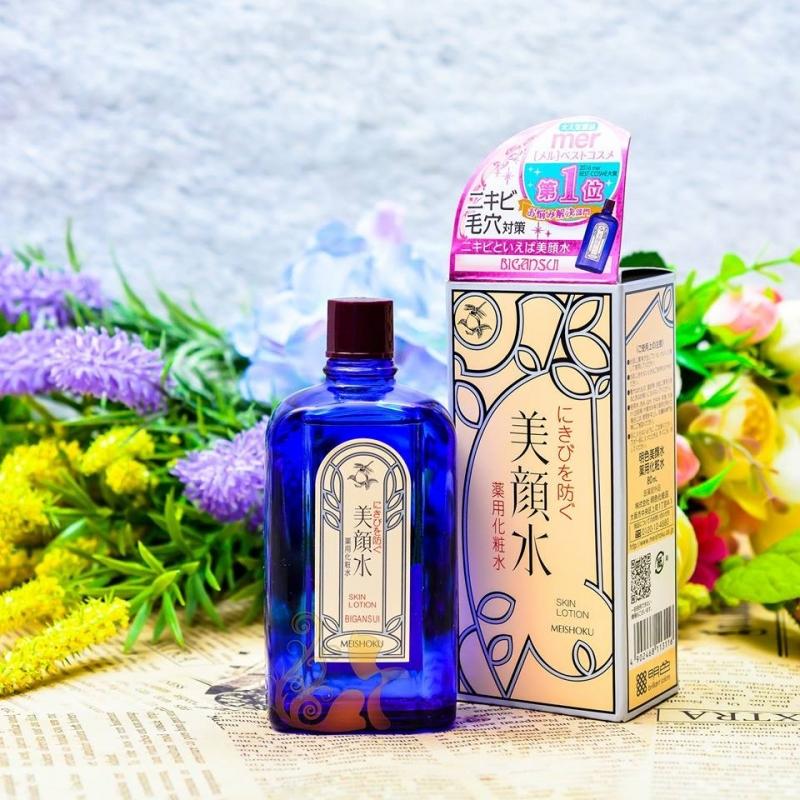 Nước hoa hồng Meishoku bigansu medicated skin lotion