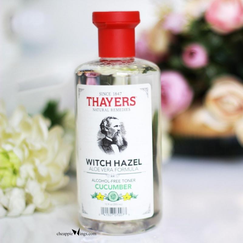 Nước hoa hồng Thayers Cucumber witch Hazel Toner