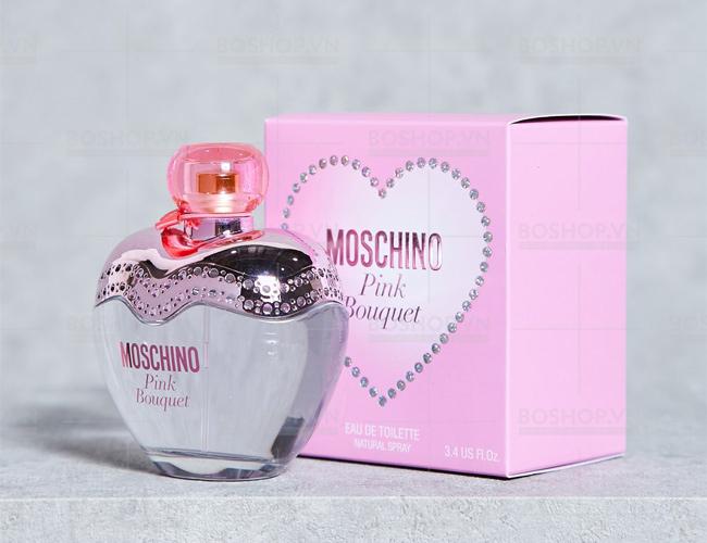Nước hoa mini Moschino Pink Bouquet EDT 5ml WOMEN