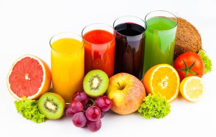 Nước trái cây chứa lượng lượng rất lớn