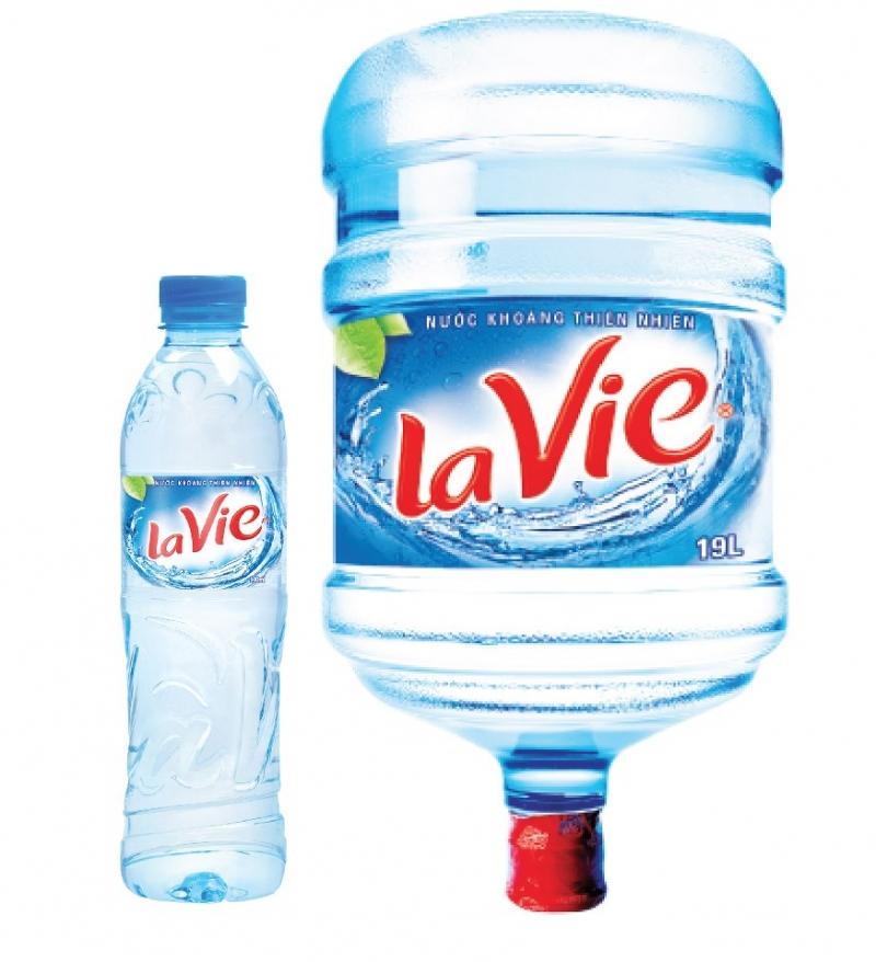 Sự tươi mát đến từ đại lý nước uống lavie quận Tân Phú