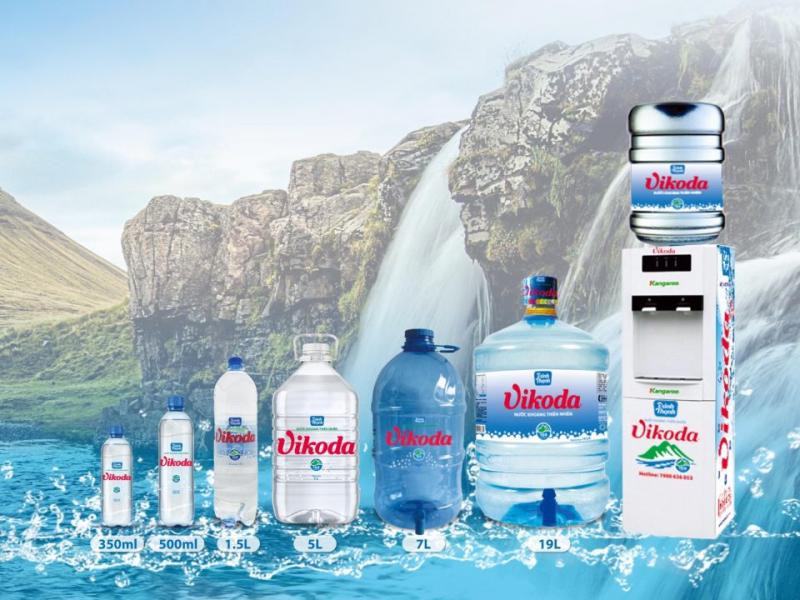 Nước khoáng thiên nhiên Vikoda