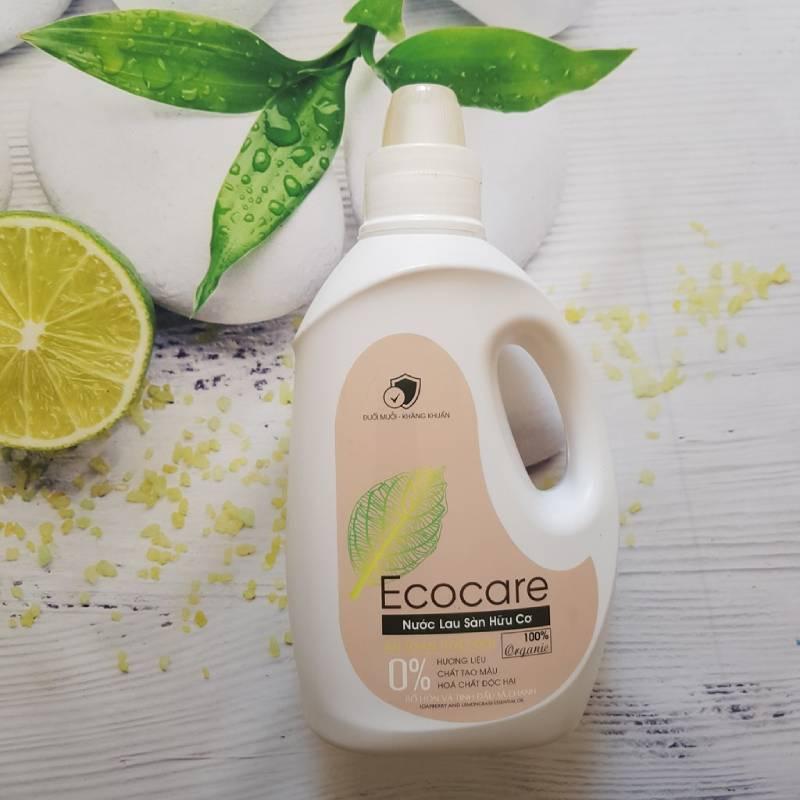 Nước lau sàn đuổi muỗi hữu cơ tinh dầu Quế Ecocare