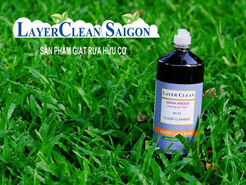 Nước lau sàn hữu cơ Layer Clean