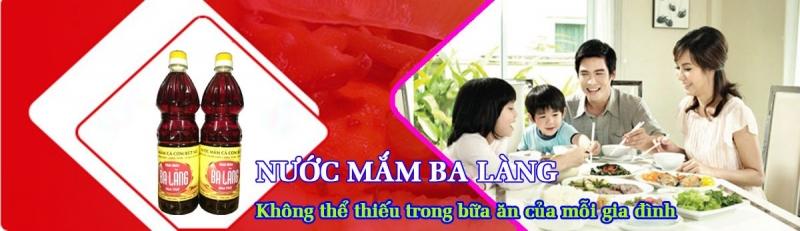 Thương hiệu Nước mắm Ba Làng, Tĩnh Gia, Thanh Hóa