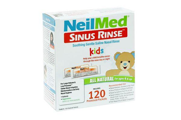 Nước muối rửa mũi sinh lý cho trẻ em NeilMed Sinus Rinse 120 gói