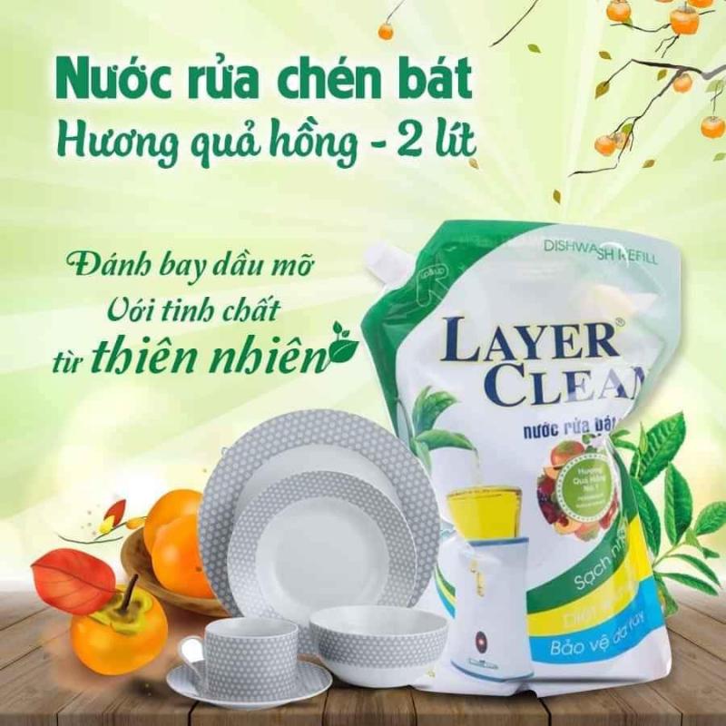 Nước rửa chén hữu cơ Layer Clean
