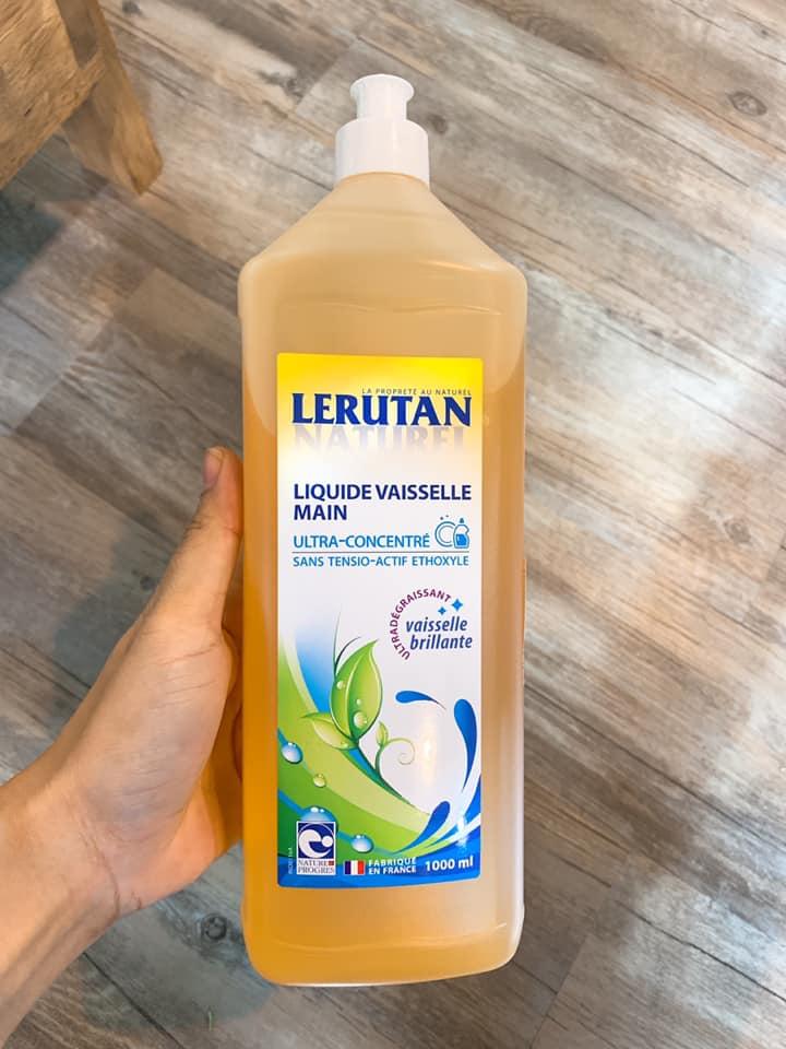 Nước rửa chén hữu cơ LERUTAN