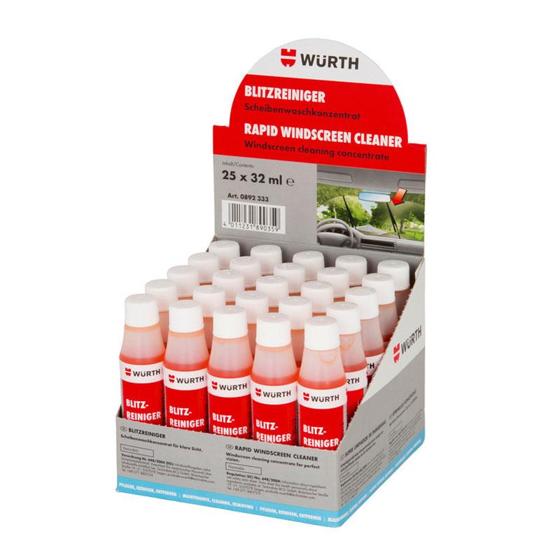 Nước rửa kính ô tô Wurth Rapid Windscreen Cleaner