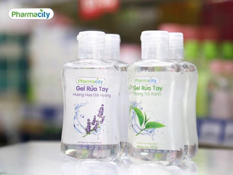 Nước rửa tay khô Pharmacity