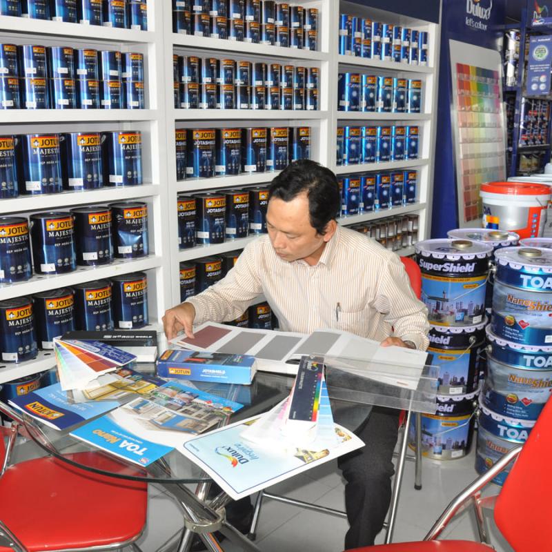 Nước Sơn Cần Thơ - Showroom nước sơn ANDY