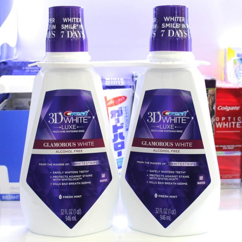 Sản phẩm Crest 3D White Luxe Glamorous được nhiều gia đình tin dùng và hết lời khen ngợi