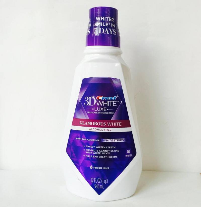 Nước súc miệng Crest 3D White Luxe Glamorous
