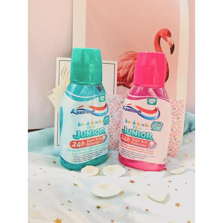 Nước súc miệng trẻ em Aquafresh