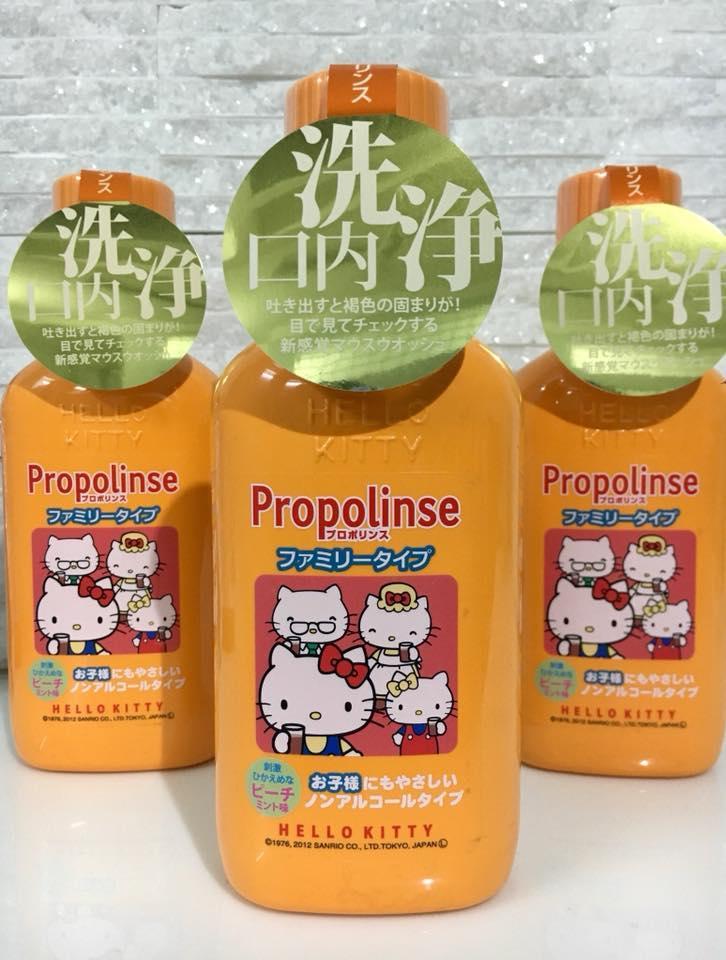 Nước súc miệng propolinse trẻ em Nhật Bản