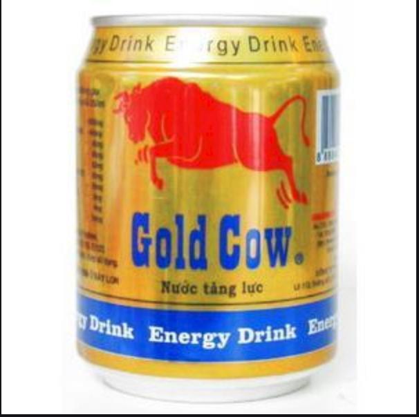 Nước tăng lực Gold Cow