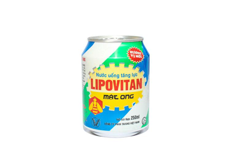Nước uống tăng lực mật ong Lipovitan