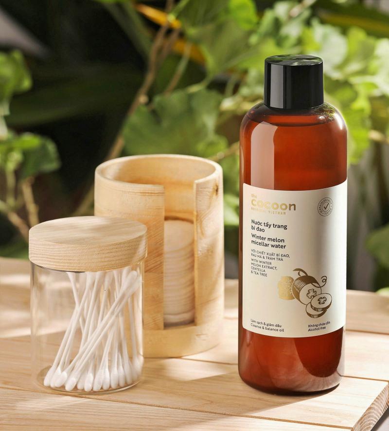Nước tẩy trang bí đao Cocoon tẩy sạch makeup & giảm dầu 500ml