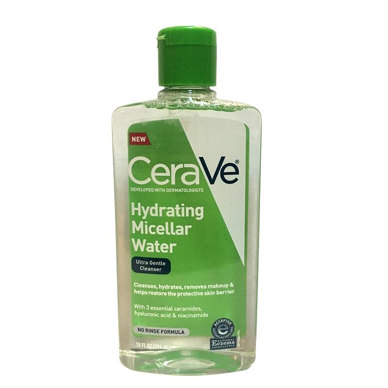 Nước tẩy trang Cerave Hydrating Micellar Water của Mỹ