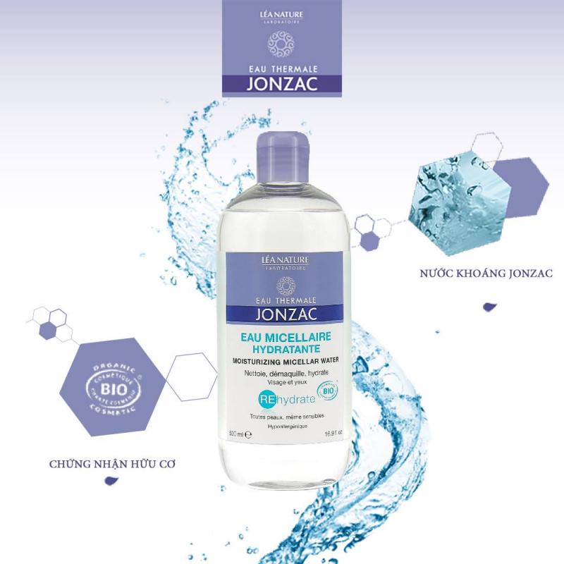 Nước tẩy trang cung cấp nước Eau Thermale Jonzac Rehydrate Moisturizing Micellar Water