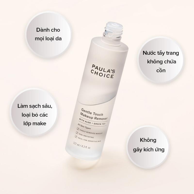 Nước tẩy trang Gentle Touch Makeup Remover l