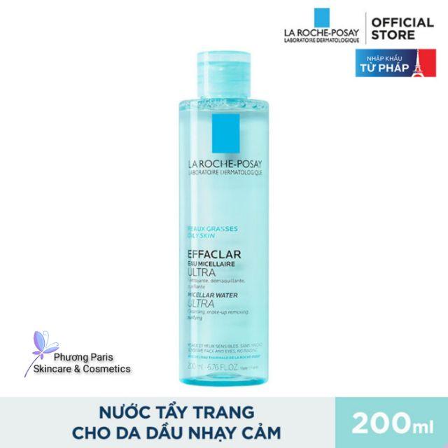 Nước Tẩy Trang Dành Cho Da Dầu & Da Nhạy Cảm La Roche-Posay Micellar Water Ultra For Oily Skin