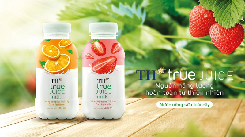 TH true JUICE milk