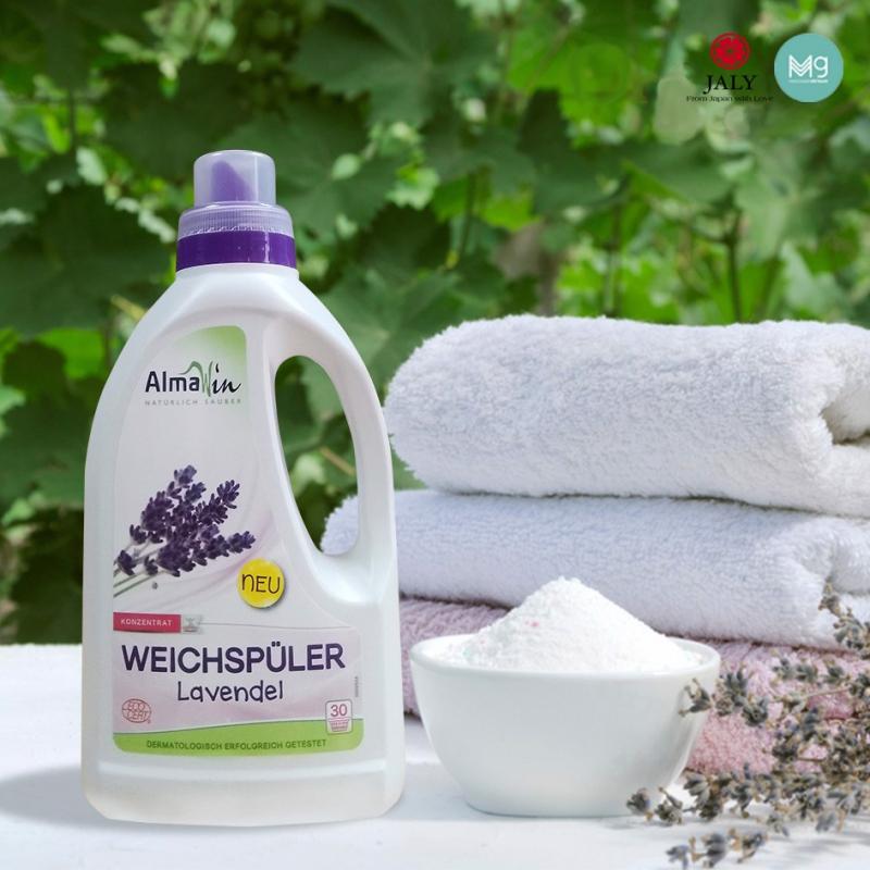 Nước xả vải hữu cơ hương lavender Almawin