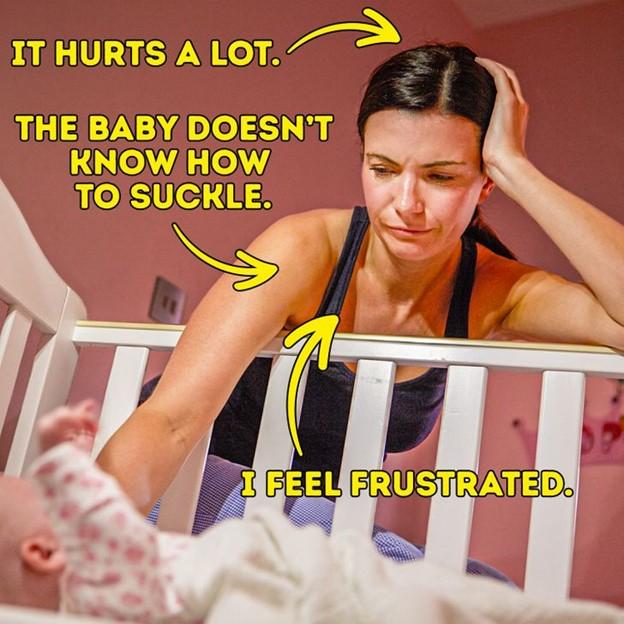 Nuôi con bằng sữa mẹ rất dễ dàng vì đó là điều tự nhiên