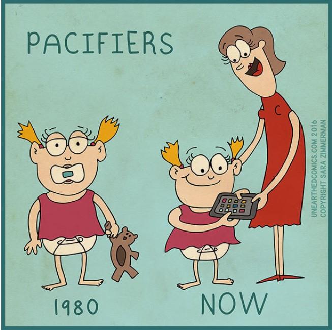Hầu hết các bậc cha mẹ thường dựa vào nhiều tiện ích công nghệ để thu hút con cái.