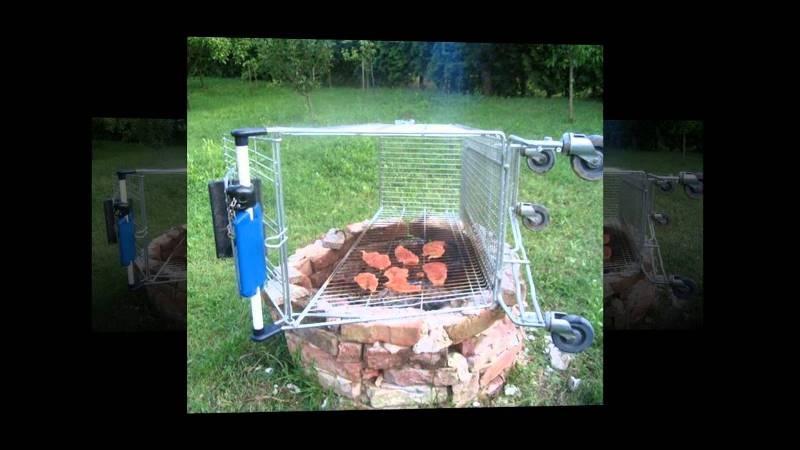 Nướng thịt mà không cần vỉ nướng