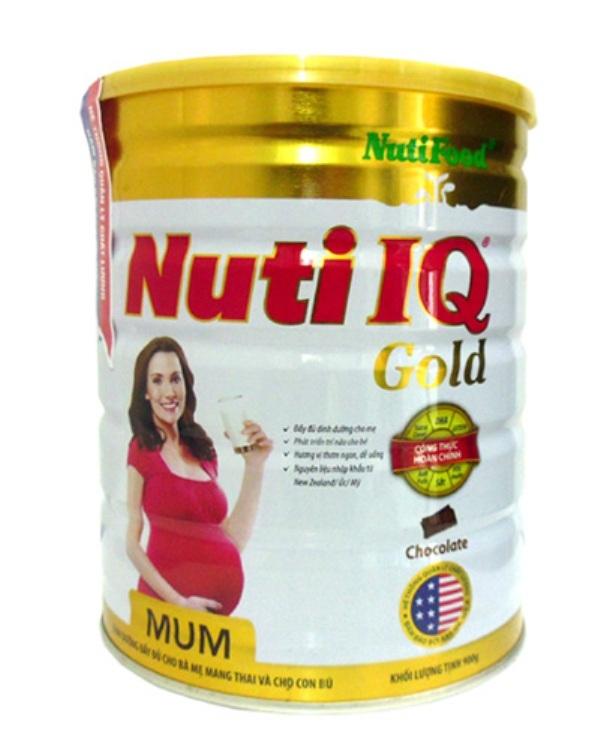 Sữa hộp thiếc 900g của Nuti IQ