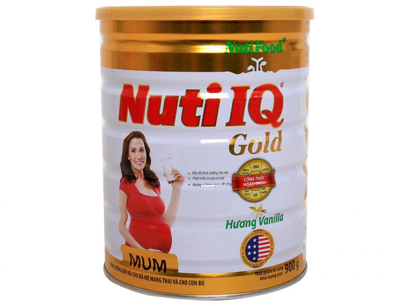 Sữa Nuti IQ mum hương vani