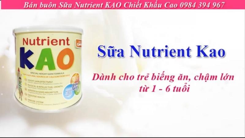 Sữa bột Nutrient KAO