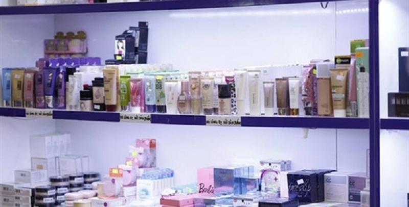 Một góc các sản phẩm của Nuty Cosmetics