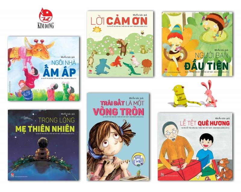 Sách của NXB Kim Đồng