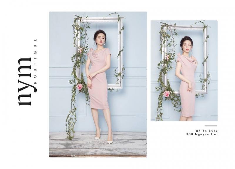 Nym Boutique là một trong những shop quần áo thời trang được yêu thích nhất trên đường Bà Triệu