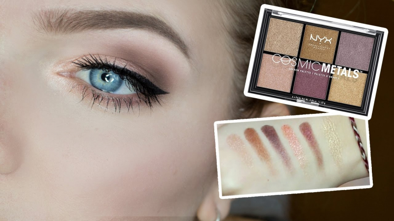 Phấn mắt NYX Professional Makeup Cosmic Metals Shadow Palette