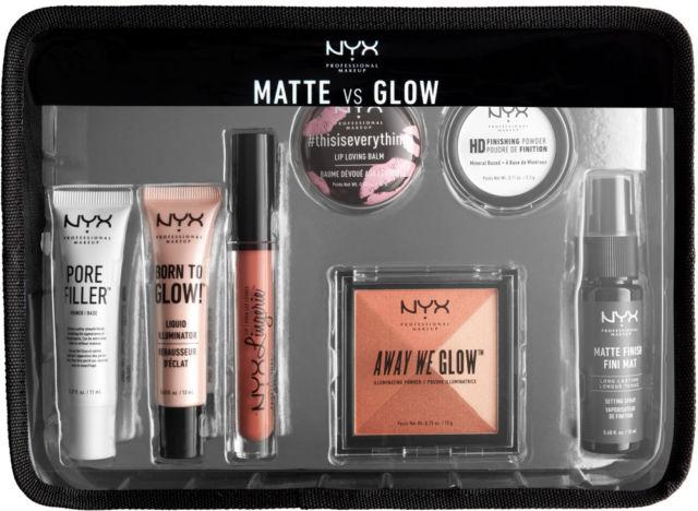 Bộ kit du lịch NYX Professional Makeup Jet Set - Matte VS Glow rất được yêu thích của hãng