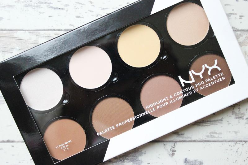 Bảng phấn tạo khối NYX Professional Makeup Highlight & Contour Pro Palette