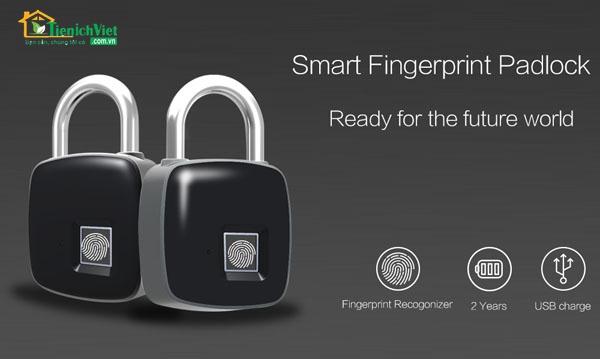 Ổ khóa vân tay chống nước Smart Lock