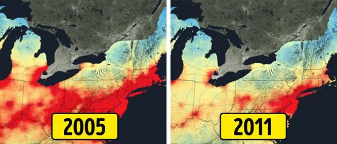 Ô nhiễm không khí giảm
