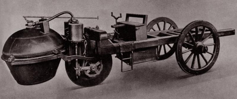 Còn đây là mẫu xe hơi của Nicolas-Joseph Cugnot